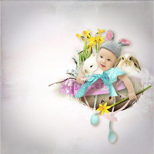 Scrap z vaší fotky (kit Easter)
