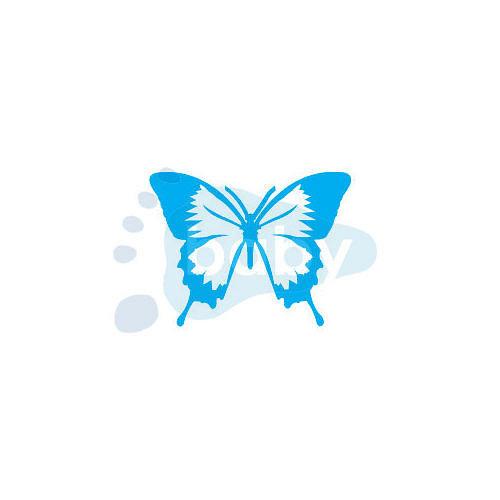 Razítko motýl