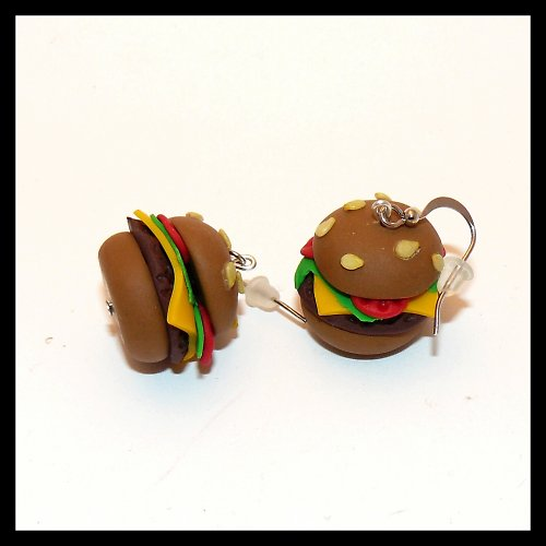 Cheeseburger k nakousnutí ,o)