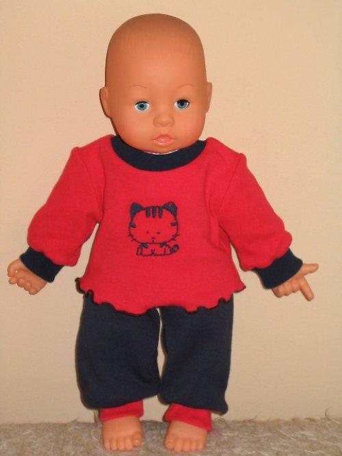 Souprava - kalhotky + triko pro panenku