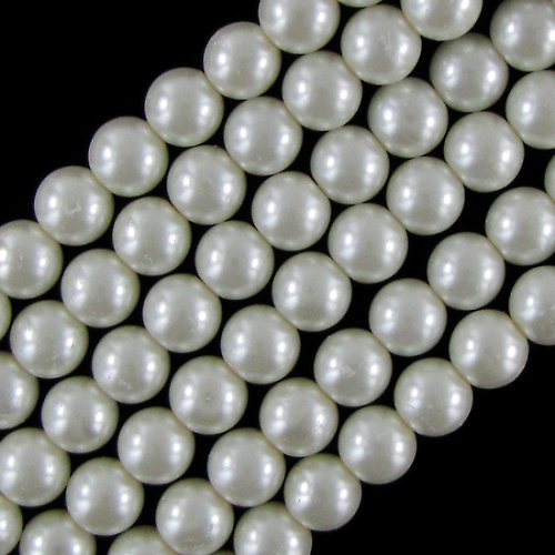 Perle voskované 6mm - 20ks