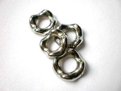 Keltské kroužky 2cm průměr 2 kusy