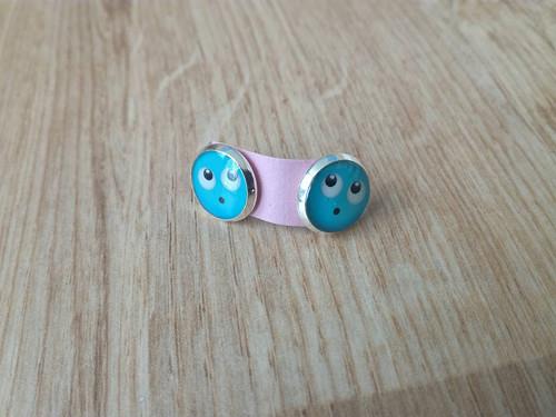 Modří smajlíci - puzetky -  II. jakost