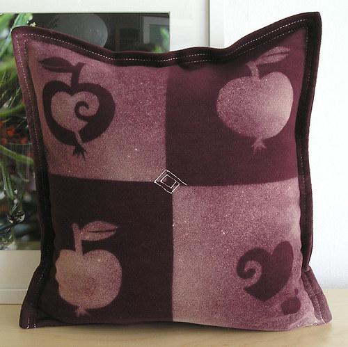 Jablíčka jako malovaná/povlak