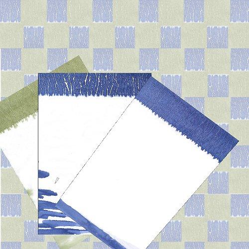 batikované dopisní papíry