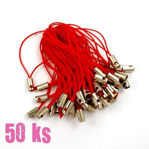 Červená poutka - 50 ks