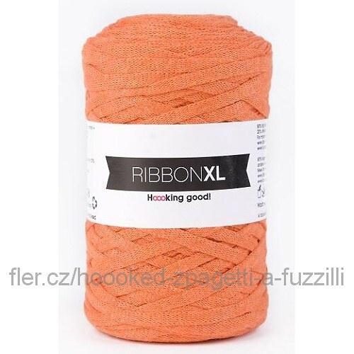 Hoooked RibbonXL - oranžová (130 m)