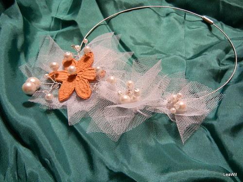 Keramické krajkové - bílá nevěsta - sada