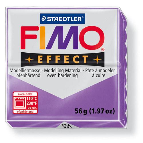 Fimo effect transparentní purpurová 604