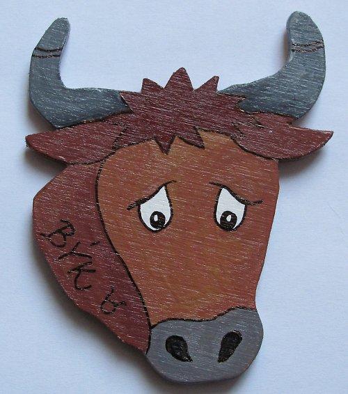 magnet býk