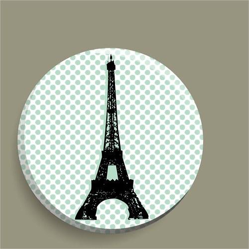 magnetka Paris, I love you!