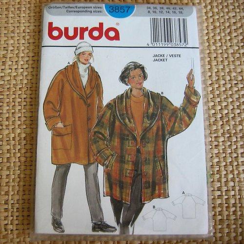 Střih Burda 3857