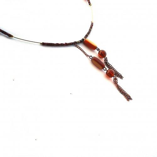 Medový náhrdelník