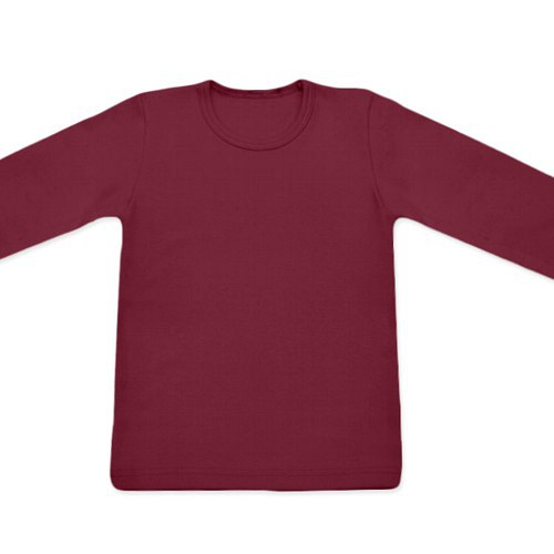 Dětské tričko UNI DR bordó