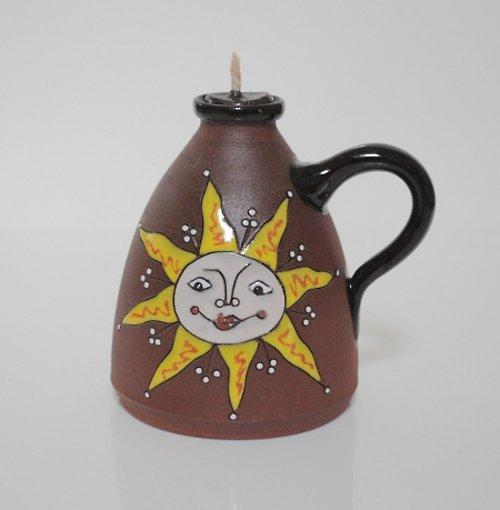 Olejová lampa sluníčko