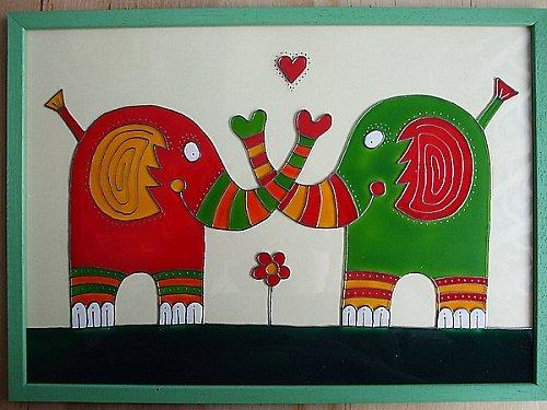 Zamilovaní sloníci