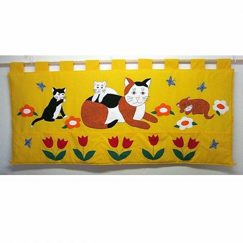 Kapsář za postel - Kočka s koťaty 165 x 70cm