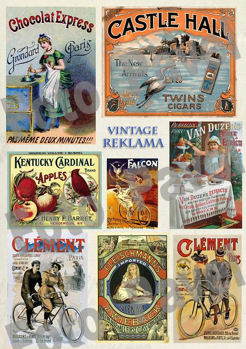 Vintage reklama - zboží, výrobky2