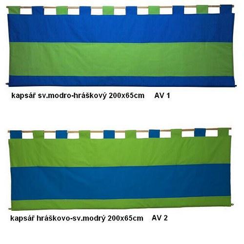 Kapsář za postel - Dvoubarevný AV 1, 2