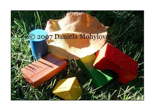Příběhy hraček - dřevěné kostky