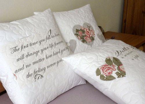 My love - Povlaky na polštáře - velké