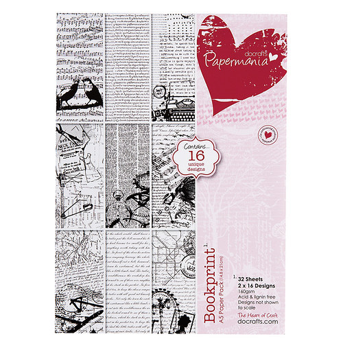 A5 PAPER PACK (32PK) BOOKPRINT - Knihtisk