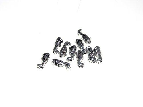Korálky plastové - pokov 9 ks, cca 15 mm