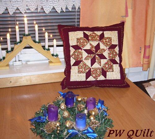 Vánoční polštářek III