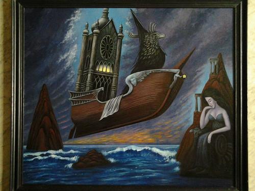 Levitující loď