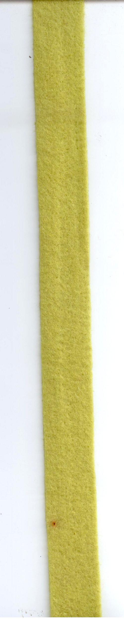 Stuha filcová zelená