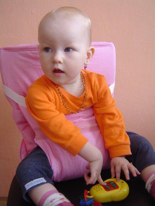 Cestovní látková židlička - variabilní výš