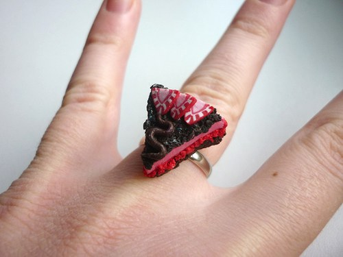 Dortík s jahodou - prsten