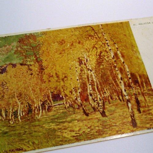 Kalvoda NÁLADY - pohlednice č. 1034