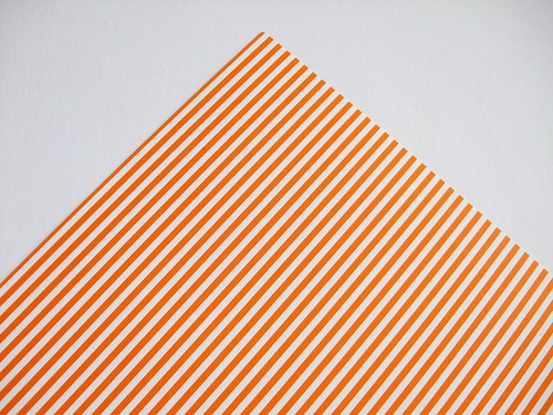 Karton oranžový proužek