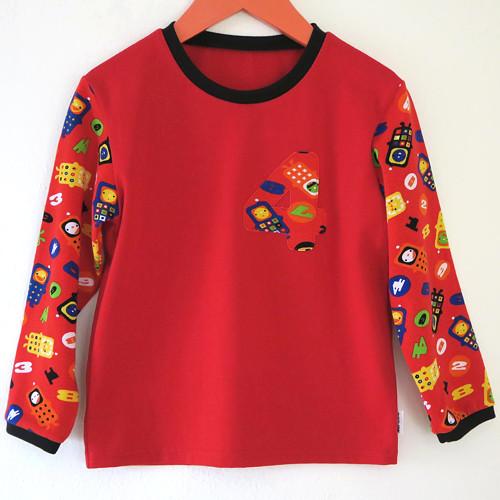 Chlapecké tričko / mikinka - vel. 104 - VÝPRODEJ
