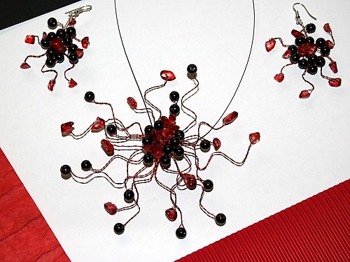 Redblack ornament -  !ORIGINÁL!