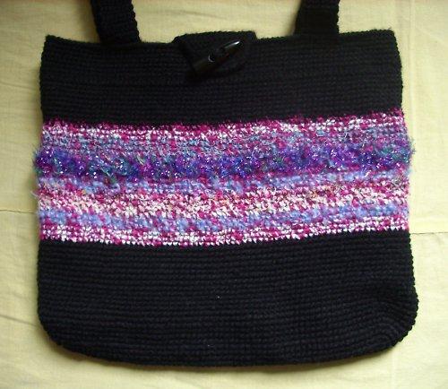 Elegantní taška háčkovaná