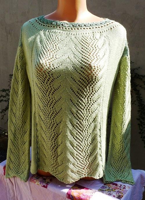 pletená halenka - výprodej a sleva