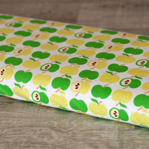 Jablíčka zelená - úplet