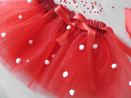 Baletní sukně, tylovka AKCE