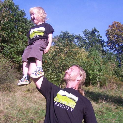 Tričko pro milovníka Jeseníků - pro dospělé