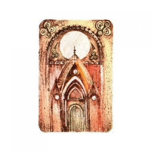 Originál litografie - Portál času