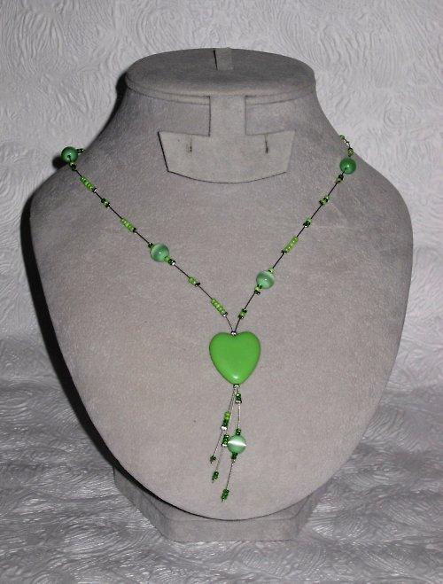 zelené srdce