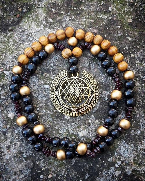 Ochranný amulet Sri Yantra