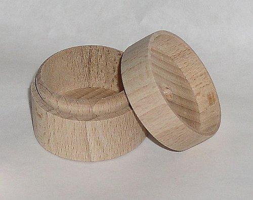Dřevěná krabička na prstýnek DL111