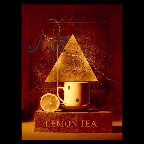 Fotomontáž  Citron - čaj