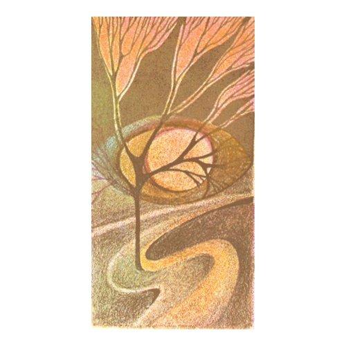 Originál litografie - Cesta vzhůru
