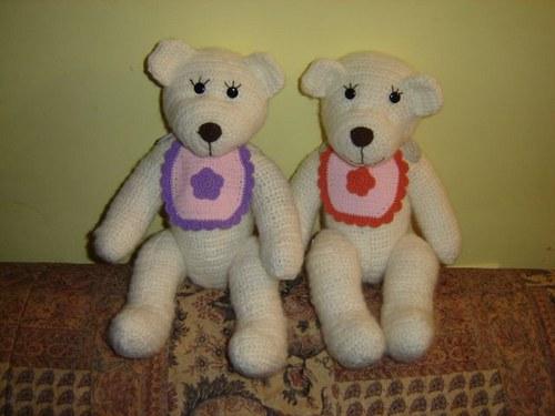 Háčkované lední medvídě :-)