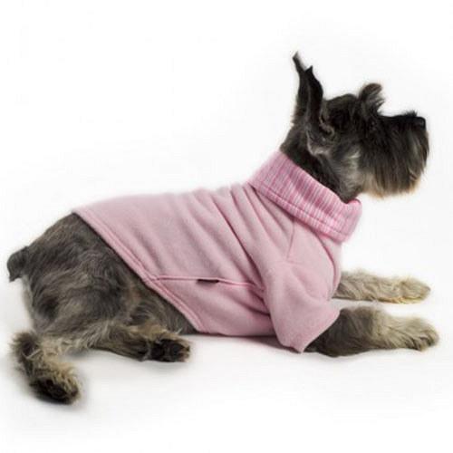 Psí obleček rolák růžový