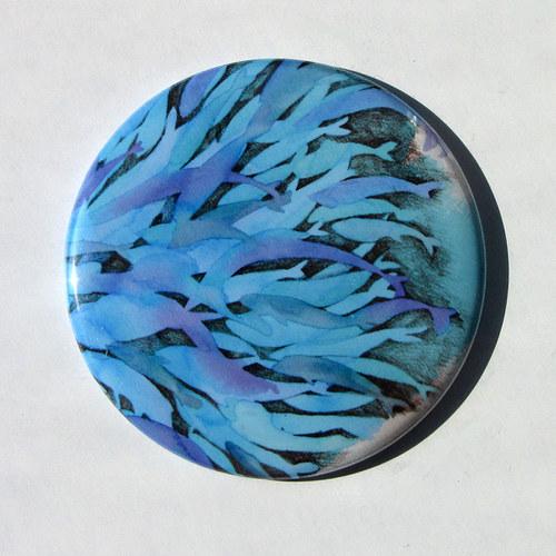 Rybí hejno 2... zrcátko s futrálkem